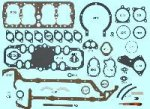 Engine Rebuild Gasket Set - '39-'48 w/ Big Bore GraphTite
